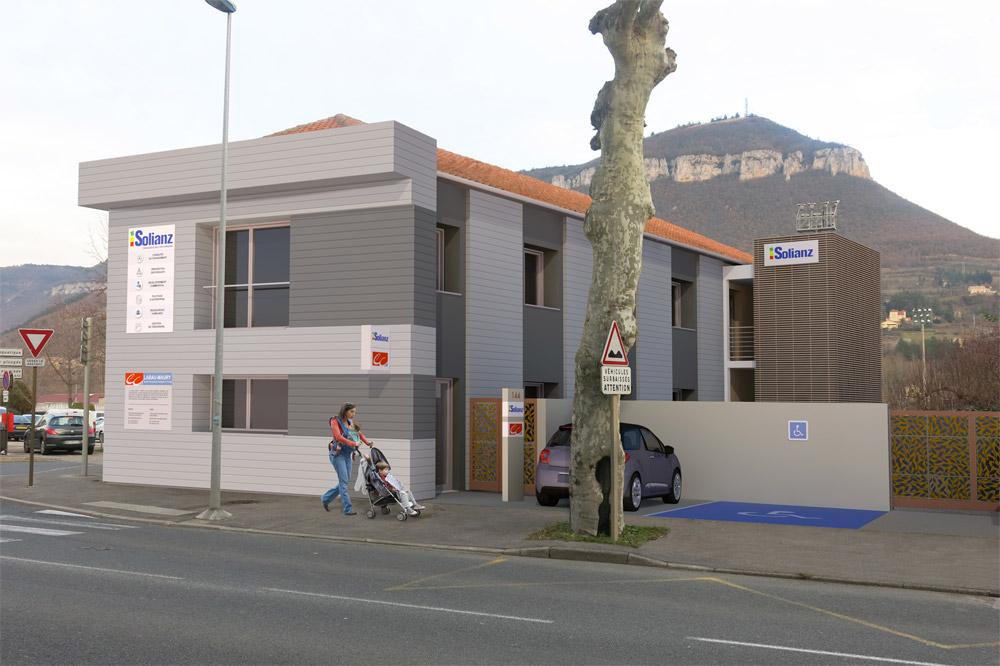 Les nouveaux locaux de Solianz à Millau